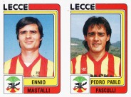 Figurina di Pasculli campionato di Serie B 1986-87