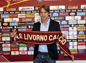 Davide Nicola, allenatore del Livorno